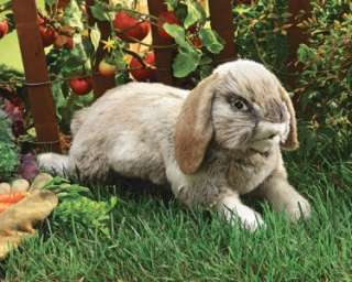 New Holland Lop Rabbit Easter Bunny Hand Puppet stuffed plush toy gift