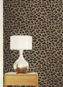 LEOPARD TIGER ZEBRA PRINT LUXURY WALLPAPER JUNGLE ANIMAL PRINT 10M