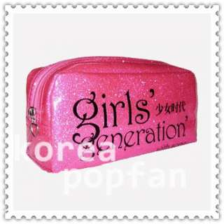 SNSD girls Generation KPOP COSMETIC BAG PEN PENCIL CASE TYPE A NEW