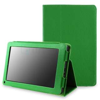 For Kindle Fire Premium Folio Leather Slim Case Cover Pouch With Flip