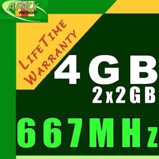 4GB RAM Laptop Memory for DELL LATITUDE ATG D620 D630