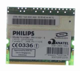 listing is for a Ibm Thinkpad G40 G41 15 Laptop Parts Wireless G Card