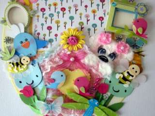 HANDMADE PREMADE SPRING MAT TOPPER TEAR BEAR PAPER PIECING PAGE 10