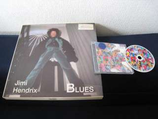 Jimi Hendrix Blues EU CD in Box with Photo Book Scarf