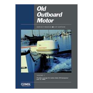 Clymer Old Outboard Motor Service Manual Vol. 1 Prior To 1969 OOS1