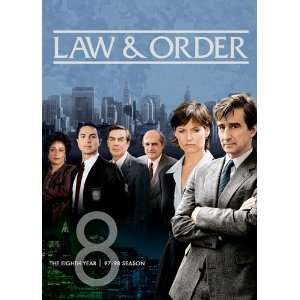 Law & Order Season Eight Sam Waterson, Jerry Orbach