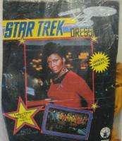 Classic Star Trek Command Uniform Womens Dress, Med NEW
