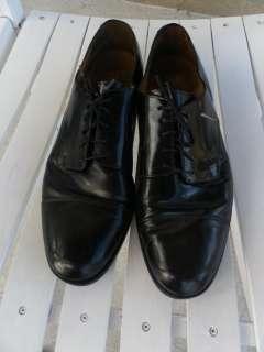 Cole Haan Mens Black Leather Oxfords Shoes sz 11 1/2 D