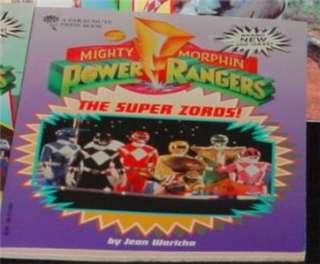 Power Rangers Super Zords book kids color pics!