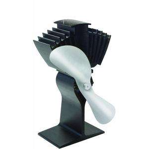 Ecofan Airmax Nickel Heat Powered Wood Stove Fan by Caframo No. 812AM