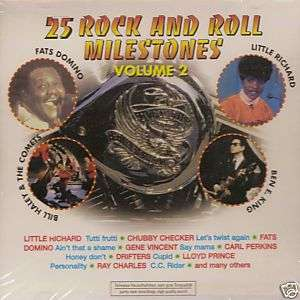 Various   25 Rock And Roll Milestones, Vol.2 (CD 1999)