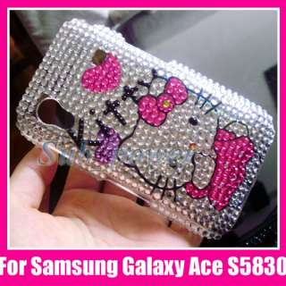 Hello Kitty Bling Case Cover Samsung Galaxy Ace S5830
