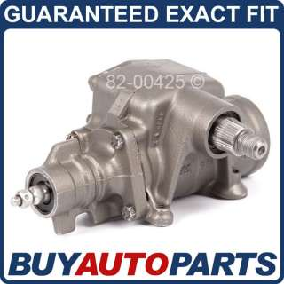SUPERDUTY EXCURSION VAN POWER STEERING GEARBOX GEAR BOX