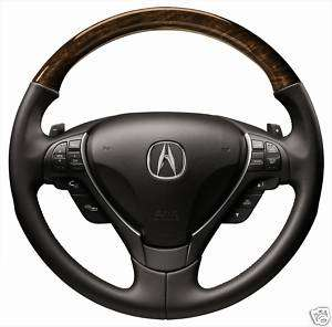 2010 Acura ZDX Accy Wood Grain Leather Steering Wheel