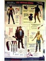 The Walking Dead ZOMBIE Action Figure Boxed Set BLOODY B&W MIB