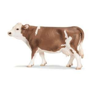 Schleich Simmental Cow 13641: Toys & Games
