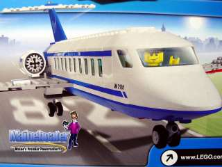 LEGO City 3181 Airplane Jet Passenger 18 Plane ~NEW~