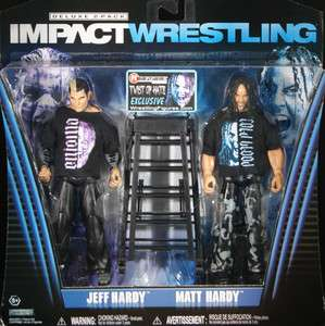 TWIST OF HATE RINGSIDE EXCLUSIVE   TNA JAKKS TOY WRESTLING FIGURE 2