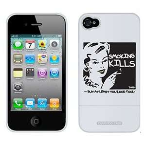 Smoking Kills TH Goldman on Verizon iPhone 4 Case by
