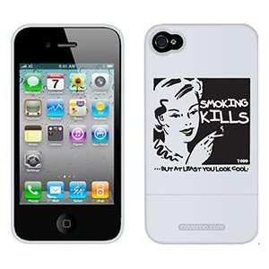 Smoking Kills TH Goldman on Verizon iPhone 4 Case by