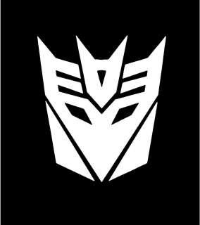 Transformers Symbol Logo Car Vinyl Window Decal Sticker
