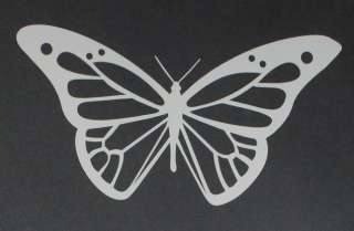Butterfly 3 Vinyl Decal Sticker 3x5.4 Wall Decor