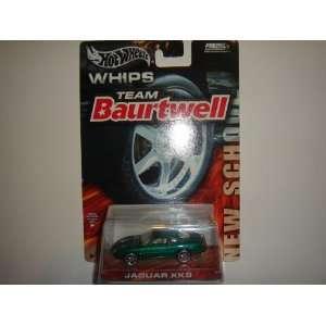 2004 Hot Wheels Whips Team Baurtwell New School Jaguar XK8