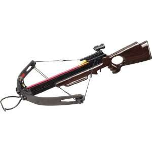 150 LBS COMPOUND CROSSBOW/WOODEN HANDLE